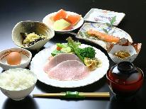 ★【朝食付】外湯めぐりに最適★野沢温泉の朝…有機米を使った美味しい朝食をどうぞ♪