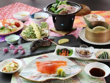 【1泊2食付】旅を楽しむ温泉宿♪四季を彩る創作料理と疲れを癒す赤沢源泉