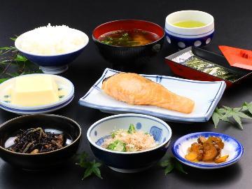【朝食のみ】◆大浴場付き◆朝ごはんはシンプル和食で一日の活力をチャージ☆