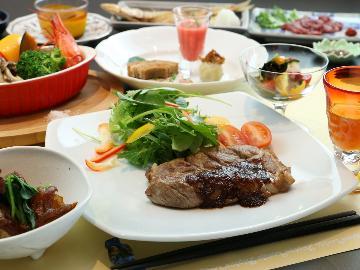 <GoToトラベルキャンペーン割引対象>【1泊2食】色鮮やかな創作料理を楽しむ!当館自慢のスタンダード☆