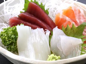 【お刺身ボリュームアップ】常陸の味と旬魚をたっぷり堪能♪平日なら日本酒1本付![1泊2食付]
