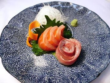 信州名物の魚料理【大王イワナ&信州サーモンのお造り】を味わえる■1泊2食付