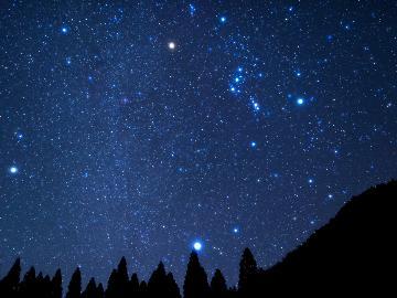【冬の星空観察】那須高原の夜空を飾るキラキラ星を見に行こう♪ホットドリンクサービス特典付《素泊まり》