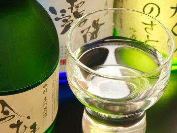 【地酒飲み比べ】群馬の厳選地酒3種をぐい呑み利き酒でほろ酔い気分♪〈1泊2食〉