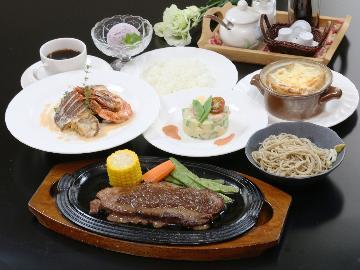 【1泊2食付】旬の信州味覚をシェフこだわりの和洋折衷ディナーでご堪能ください♪