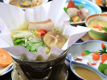 【コロナに負けるな】★一泊二食 スタンダード★ ご好評の野菜と魚を生かしたヘルシー会席