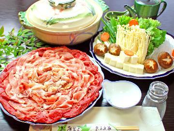 得々寄せ鍋プラン♪リーズナブルに大満足♪ビワイチ・京都観光にも最適ですヨ...