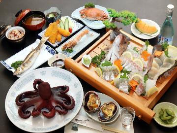 【スタンダード】捕れたて!旬の新鮮魚介を味わう[1泊2食付]