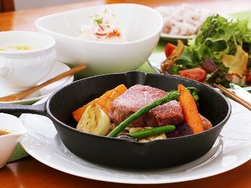 【那須和牛プラン】希少なお肉を旬の高原野菜とともに味わおう♪1泊2食付き【女性に大人気の絶品赤身肉】