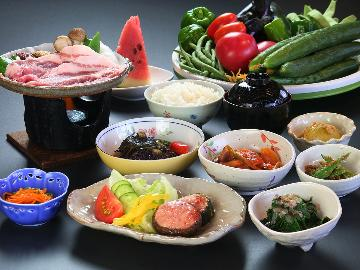 ≪1泊2食≫お米に野菜、ほとんどうちの畑産!天然温泉とオーナー夫妻に癒される♪フローラ戸狩基本プラン