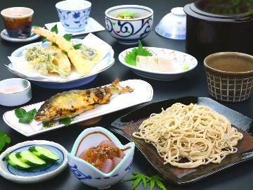【スタンダード】福いち自慢の本格手打ち蕎麦を味わう -2食付-