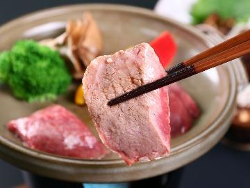【山梨グルメ】「甲州ワインビーフ」&蕎麦を堪能-2食付-グラスワイン特典付