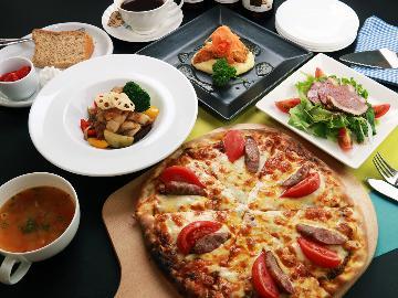 【1泊2食スタンダード】大自然の中でこだわりのイタリアンコース料理をリーズナブルに・・・