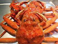 【1日1組 平日限定】<本ずわい蟹>お一人様 一杯食べれる♪焼き・ゆで・刺し 美味しい食べ方でどうぞ!