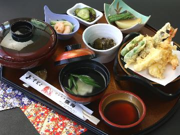 <GoToトラベルキャンペーン割引対象>【タイムセール☆選べる日本海定食】日本海の味をお値打ち価格で!お刺身or天婦羅をお好みで♪
