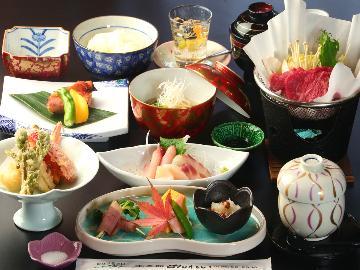 【すきやき鍋会席★2食付】み~んな大好きすき焼き鍋と旬のお料理大満足プラン♪Wi-Fi有