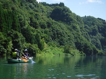 【川遊び体験】九州のグランドキャニオン蘇陽峡でカヌー or SUP体験♪