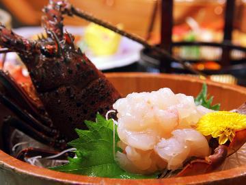 【青光】-八光海鮮と遠州夢咲牛◆グレードアップー[1泊2食]