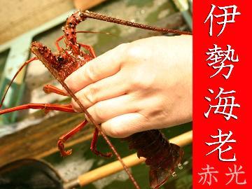 【赤光】 -伊勢海老づくし 選べる食べ方プラン- [1泊2食][個室食]