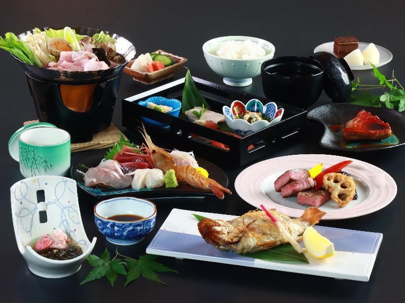 ◆プレミアムプラン◆日本海を味わいつくす!ご当地ブランド、高級食材も使った贅沢コース☆+゚