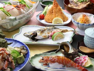 迷ったら!これ!海の幸が自慢の浜料理♪豪快お食事♪夕食のみプラン