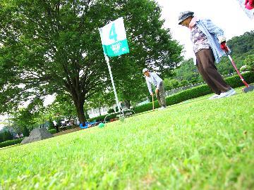 <GoToトラベルキャンペーン割引対象>★特典付★平日限定【グラウンドゴルフ(和食膳)プラン】手ぶらでOK!芝生広場でグラウンドゴルフ♪