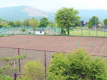 【テニスコート利用】山中湖でテニスを満喫♪手作りの山里料理や露天風呂も☆-2食付-