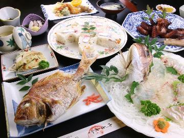 【湯島鯛☆堪能プラン】9月~1月までの期間限定!湯島の旬の海の幸を食す♪