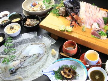 4月限定!【直前割】≪海鮮会席≫壱岐の海鮮をたっぷり。海鮮ざんまいプラン♪