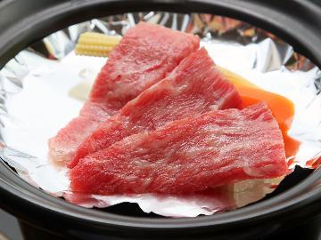 【会場食】期間限定◆4月までの特別プラン!◆1万円ポッキリ!鳳来牛のミニ陶板焼き