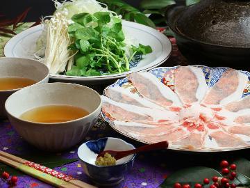 期間限定≪日光≫繊細な味わいの日光HIMITSU豚を特製出汁のつゆしゃぶで堪能!栃木ブランドをお届け