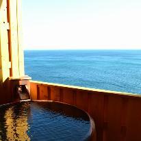 ★GoToトラベルキャンペーン割引対象●5か所の無料貸切露天風呂で海を見ながらのんびりしたいLOVE×2カップルさんへ♪