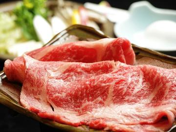 ☆一度は食べてみたい…極上の旨みが凝縮!《まんぷく》上州牛すき焼き♪ 【グレードアッププラン】
