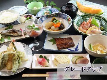 【グレードアップ】女将特製!身延の旬の素材を味わうプラン♪夕食22時まで対応可![お部屋食]