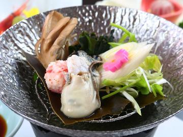 <GoToトラベルキャンペーン割引対象>【岩ガキ】旨味たっぷり!岩牡蠣 料理 3品付き♪焼きガキ・蒸しガキ 天然もの堪能プラン