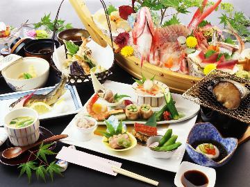 《2大グルメ》 あわび・舟盛付 スペシャル会席 【季の舞-toki-】 ~全客室富士山ビュー~