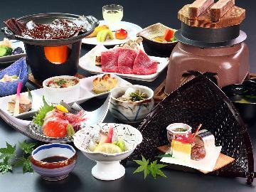 【スタンダード】天然温泉×お料理で大満足◆信州の旬を感じる四季の会席料理《-nishiki-錦》♪