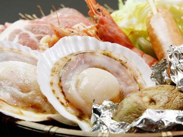 【夕食のみ◆BBQ】5名様からご予約可!南房総で海鮮BBQを満喫♪