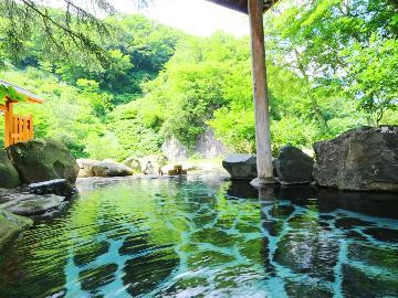 【一人旅】源泉掛け流し絶景温泉で贅沢一人旅♪山の幸堪能で食事も大満足!【1泊2食】