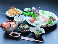 【スタンダード】女将の真心手作り磯料理◆ -定番海鮮料理コース-