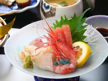 《直前割》【2食付】 料亭に泊まる。鮮度抜群な日本海の幸を存分に味わう彩りの「会席料理」基本プラン
