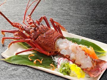 【お部屋食◆特典付】蟹&伊勢海老のお刺身盛り合わせ付!豪華食材盛りだくさんの懐石コース【1泊2食付】