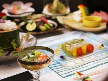 【食で心まで満たされる一日】スタンダードプラン~割烹旅館の素材にこだわり抜いた料理を食す~2食付