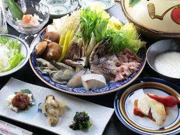 【スタンダード】<信州味噌の山かけ鍋>に信州の美味しい食材でおもてなし~1泊2食付