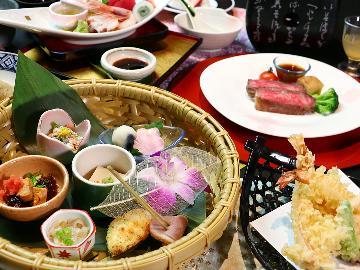 <GoToトラベルキャンペーン割引対象>≪季-toki≫季節を彩る美食会席*料理長一押し*1ランク上の贅沢プラン