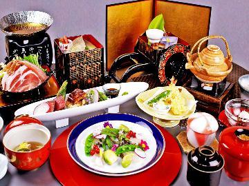 【宿泊に使える2,000円クーポン付き!】4月限定♪桜薫る、春色会席-Sakura-