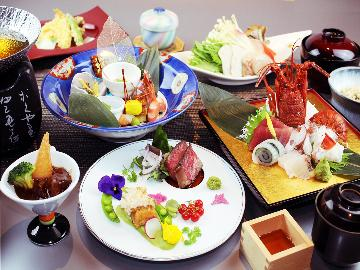 【5月・6月限定】初夏の味覚を味わう♪夏色会席-aoba-温泉リゾートで過ごす休日