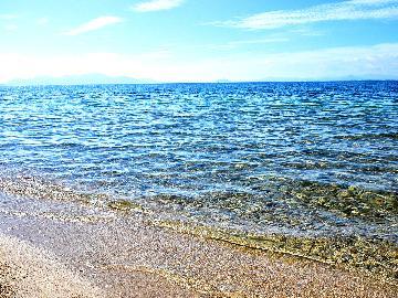 \夏は湖水浴へGO!(^O^)/マキノサニービーチまで徒歩5分!夕食は珍しい湖魚料理を堪能♪〔1泊2食〕