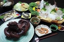 【島グルメ】 リーズナブルに島を堪能! 「海鮮Aプラン」ご宿泊・一泊夕朝食付き