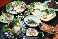 【スタンダード】 旬の新鮮魚介を堪能する! 「海鮮Bプラン」ご宿泊・一泊夕朝食付き